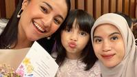 6 Potret Kebersamaan Marshanda dan Nesyana Ayu. (Sumber: Instagram/marshanda99)