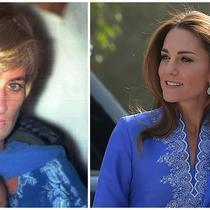 Putri Diana-Kate Middleton. (STR / AFP Aamir QURESHI / AFP)