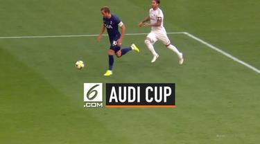 Tottenham Hotspur berhasil mengalahkan Real Madrid 1-0 pada laga Audi Cup 2019. Gol tunggap Spurs dicetak oleh Harry Kane.