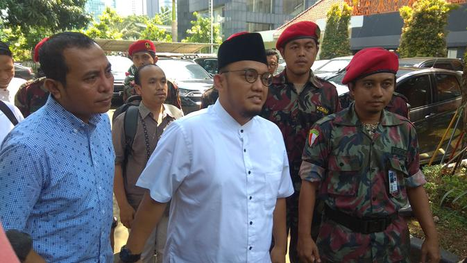 Ketua Umum Pimpinan Pusat Pemuda Muhammadiyah Dahnil Anzar Simanjuntak. (Merdeka.com)