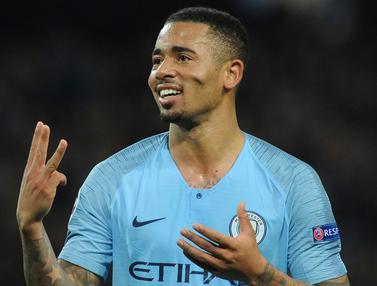 Gabriel Jesus Hattrick, Manchester City Bantai Shakhtar Donetsk 6-0