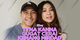 Tyna Kanna akhirnya menggugat cerai Kenang Mirdad. Seperti apa info lengkapnya? Yuk cek video di atas!