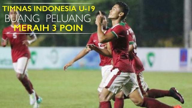 Video Timnas Indonesia U-19 yang membuang peluang meraih 3 poin saat unggul 2-0 terlebih dahulu atas Thailand di Piala AFF U-19 2016.