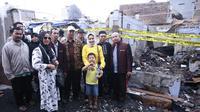Camel Petir kunjungi korban kebakaran Krukut, Jakarta