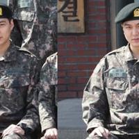 Lee Min Ho saat wamil. (Soompi)