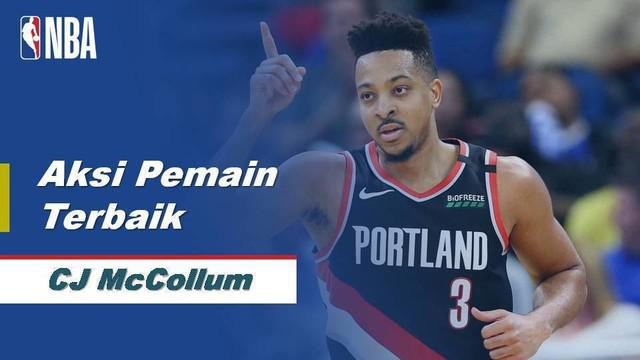 Berita Video CJ McCollum Bawa Portland Trail Blazers Menang Atas Orlando Magic 130-107