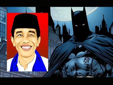 Gambar Jokowi dan Ahok masuk dalam komik terbitan DC Comics (Istimewa)