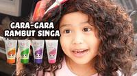 Gara-Gara Rambut Singa. (Sumber: YouTube/Senja Firsta).