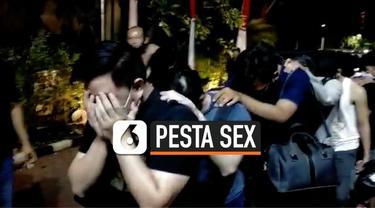 Tim Jatanras Polda Metro Jaya menangkap 56 pria yang menggelar pesta seks sesama jenis di salah satu apartemen kawasan Jakarta Selatan.