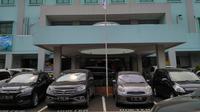 Selama pembangunan gedung baru, RS EMC Tangerang tetap beroperasi seperti biasa (Foto: LIputan6/Benedikta Desideria)