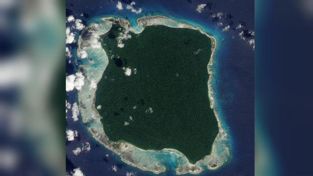North Sentinel Island, Indian Ocean (Wikipedia/Public Domain)