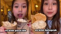 6 Video Viral Sisca Kohl Bikin Es Krim Unik, Terbaru Rasa Pecel Lele (sumber: TikTok/siscakohl)