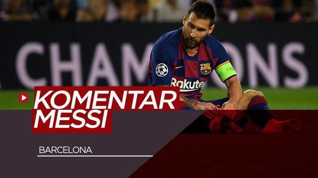 Berita Video Lionel Messi Komentari Barcelona yang Belum Optimal Musim Ini