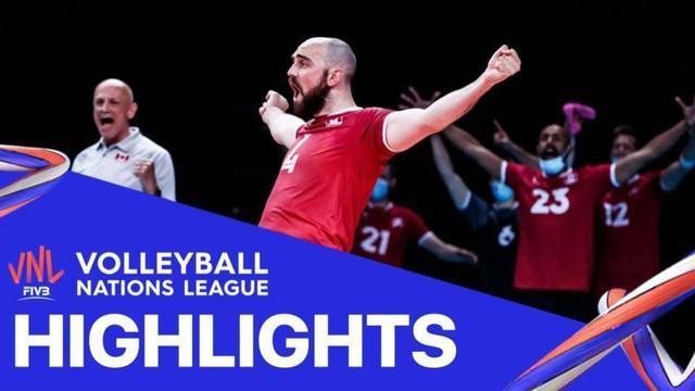 Berita Video, Volleyball Nations League Tim Putra Iran Vs Italia 3-1, Sabtu (5/6/2021)