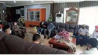 Waspadai Teroris, Densus 88 AT Mabes Polri Temui Wagub Gorontalo (Arfandi Ibrahim/Liputan6.com)