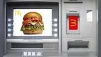 McDonald's menghadirkan pengalaman baru bagi Anda untuk menikmati Big Mac lewat Mesin ATM