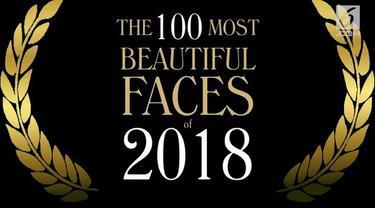 TC Candler kembali merilis nominasi The 100 Most Beautiful and Handsome Faces 2018. Selain artis dunia, lima artis Indonesia juga masuk ke dalam nominasi wanita tercantik tersebut.