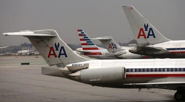 Ilustrasi American Airlines