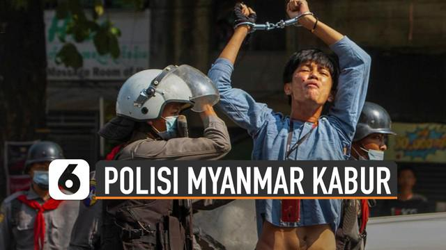 Seorang polisi Myanmar bernama Tha Peng beberkan cerita di balik demonstrasi di Myanmar.