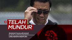 Berita video Imam Nahrawi telah mengajukan surat pengunduran diri dari jabatan Menpora (Menteri Pemuda dan Olahraga) kepada Presiden Jokowi, Kamis (19/9/2019).