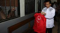 Muncikari RA kembali menjalani persidangan di Pengadilan Negeri Jakarta Selatan, Selasa (22/9/2015). [Foto: Herman Zakaria/Liputan6.com]