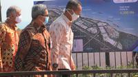 Menteri Perindustrian (Menperin) Agus Gumiwang Kartasasmita kawasan industri di Batang, Jawa Tengah. (Dok Kemenperin)