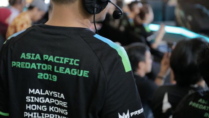 Ajang Asia Pacific Predator League 2019 menelurkan BOOM ID sebagai jawara DOTA 2. (Bola.com / Yusuf Satria)