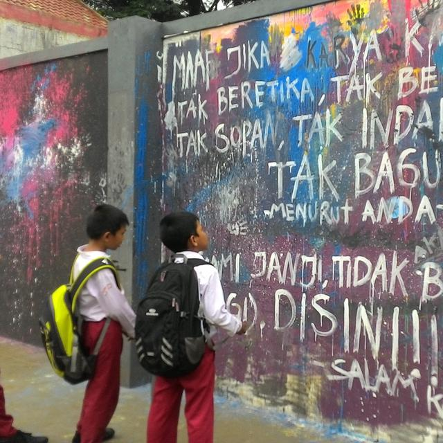Komunitas Mural Dan Grafiti Bogor Boikot Taman Corat Coret