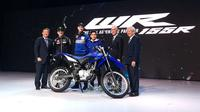Yamaha WR 155R resmi ramaikan kelas motor trail Tanah Air. (Dian / Liputan6.com)