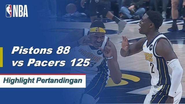 Domantas Sabonis keluar dari bangku cadangan dan menempatkan 19 poin dan 12 rebound untuk memimpin Indiana atas Detroit.