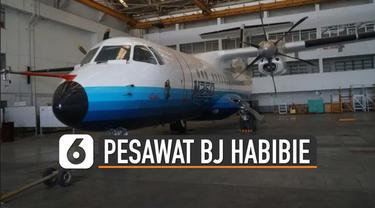 Pesawat pertama buatan Indonesia karya BJ Habibie ini memang mempunyai banyak sejarah. Hingga saat ini pesawat N250 tetap dirawat dan dimuseumkan.