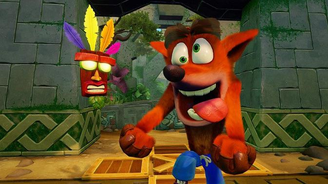 Crash Bandicoot Remastered edition. Sumber: Kotaku