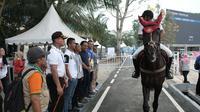 Pihak Inasgoc melalui Pemerintah KabupatenTangerang, akhirnya, mengumumkan pemberlakuan tiket gratis tanpa syarat untuk pertandingan Asian Games dengan cabang olahraga pentathlon.