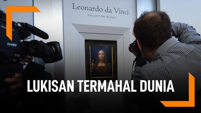 Dulu Misterius, Ini Salvator Mundi Lukisan Termahal Dunia