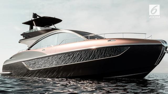 Produsen mobil Lexus berencana akan menjual kapal pesiar atau Yacht. Seperti apa isi di dalamnya? Yuk kita intip!