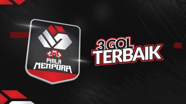 Berita Video 3 Gol Terbaik The Finals Piala Menpora 2021, Cek Torehan dari Wonderkid Persija Jakarta