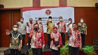 Cegah menyebarnya paham radikalisme, BNPT gelar Silaturahmi Kebangsaan dengan Forum Koordinasi Pencegahan Terorisme (FPKT) dan Mitra Deradikalisasi. (Liputan6.com/Istimewa)