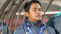 Madura United resmi merekrut mantan pelatih fisik Timnas Indonesia, Sansan Susanpur. (Bola.com/Aditya Wany)