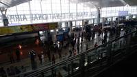 Persiapan Dilakukan Pihak Bandara Kualanamu Hadapi Natal dan Tahun Baru (FOTO: Liputan6.com/Reza Efendi)