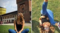 Valentina Allegri fans Juventus sejati. (Instagram)