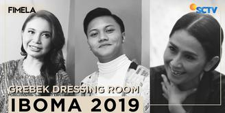 Grebek Dressing Room IBOMA 2019 | Part Rizky Febian