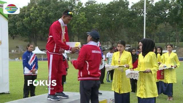 Atlet cabang atletik kembali toreh prestasi. Adi Ramli Sidiw, Jeany Nuraini dan Wempy Pelamonia raih tiga medali emas di Asean School Games 2018.