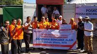 PT Pos Indonesia (Persero) bersinergi dengan BUMN lainnya kembali memberikan bantuan kepada masyarakat Lombok yang tertimpa musibah.