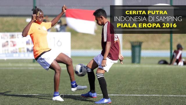 Cerita seorang pesepak bola muda Uni Papua yang bermain pada kompetisi di Prancis.