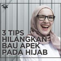 3 Tips Menghilangkan Bau Apek pada Hijab