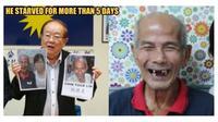 Pria 77 tahun kabur dari rumah, alasannya bikin haru (Sumber: World of Buzz)
