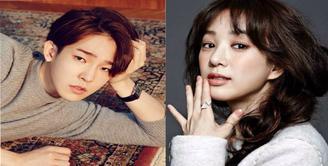 Kabar mengejutkan kembali datang dari Nam Tae Hyun dan Jung Ryeo Won. Terpaut perbedaan usia 13 tahun, keduanya dikabarkan memiliki hubungan spesial. Namun, kabar ini dibantah oleh agensi Jung Ryeo Won. (doc.Allkpop.com)