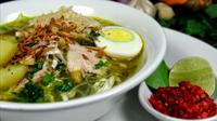 Soto Ayam Lamongan. Foto: Resep Masakan Nusantara)