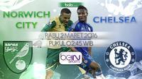 Norwich City vs Chelsea (Bola.com/Samsul Hadi)