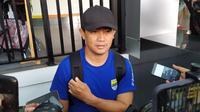Pelatih fisik Persib Bandung Yaya Sunarya. (Liputan6.com/Huyogo Simbolon)